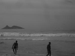 Praia da Barra (RJ), hoje